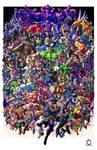 CLASH! (Marvel Vs Capcom Tribute Art)