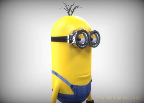 3D Despicable Me Minion Draft