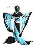 Butterfly Geisha by Kiriwana