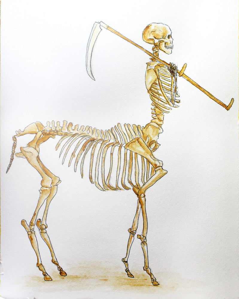 Centaur Death by Kiriwana
