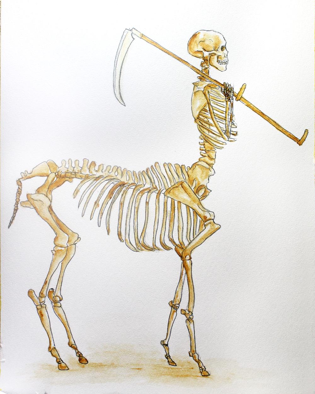 Centaur Death by Kiriwana