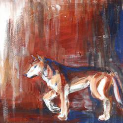 Three-coloured Wolf