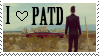 I Love PATD Stamp by astroliqht