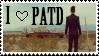 I Love PATD Stamp by astroliqht