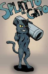 Splatto del Gato [Fan Art] by immadametal