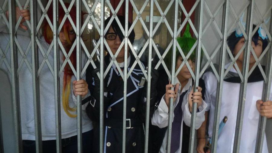 In the cage by HinaNekosama