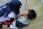 Menma and Hinata from Naruto Road to Ninja