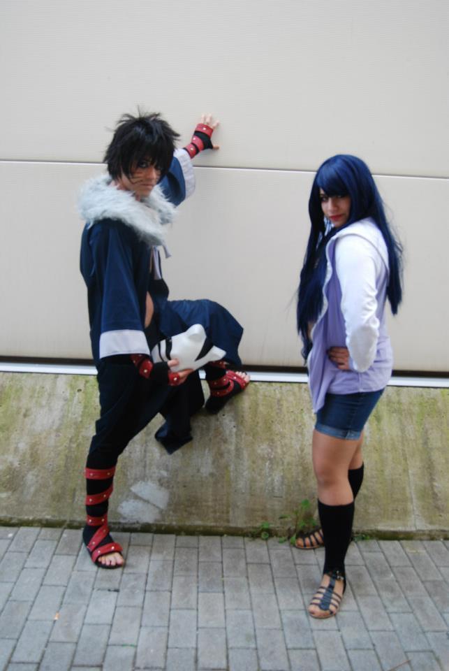 Menma and Hinata from Naruto Road to Ninja by HinaNekosama