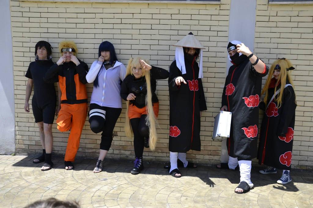 Naruto Group: Konoha and Akatsuki by HinaNekosama