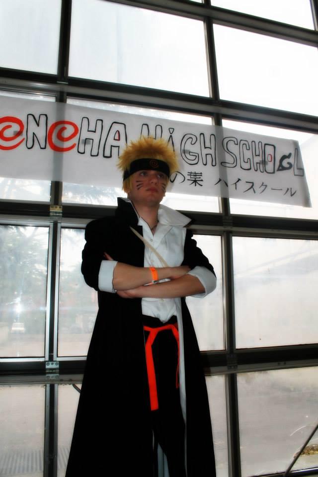 Naruto Uzumaki from Konoha High School by HinaNekosama