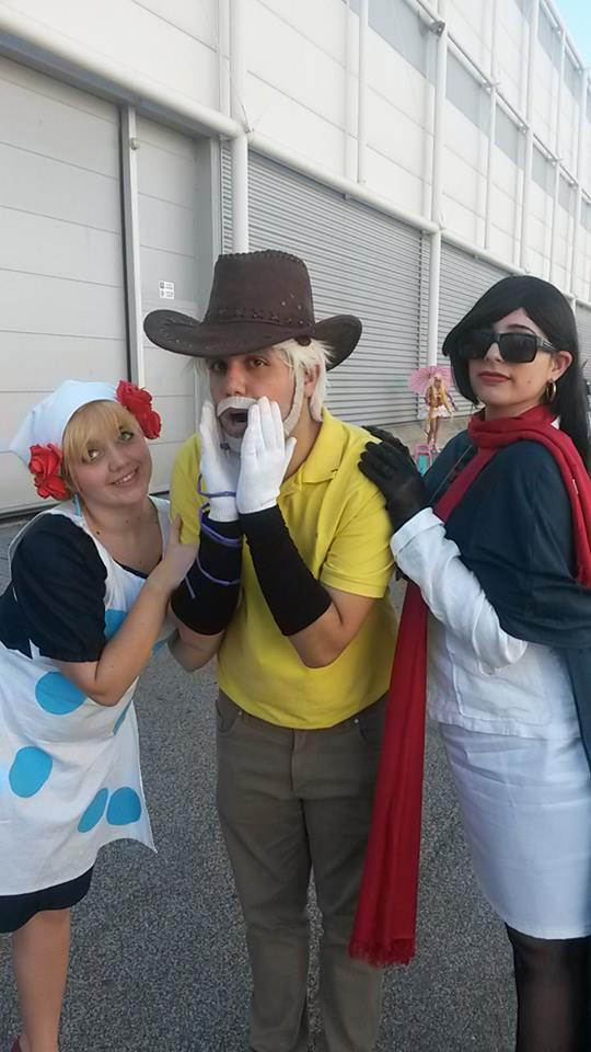 THE happy family - JJBA by HinaNekosama