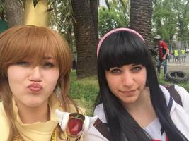 Sakura and Tomoyo - Card Captor Sakura
