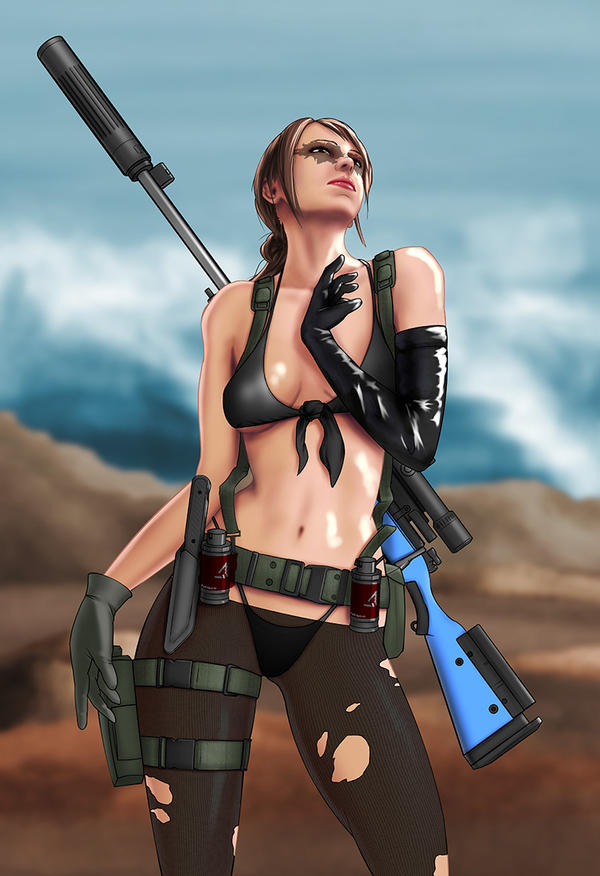 Quiet Metal Gear Solid V By EverHobbes