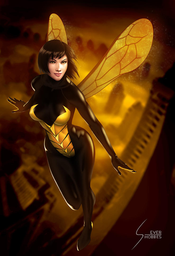 Wasp, Ant Man and the Wasp by EverHobbes