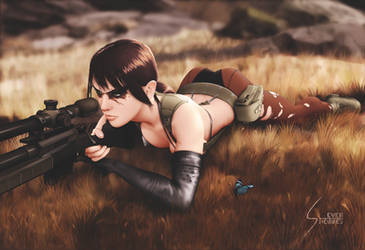 Quiet, Metal Gear Solid V: The Phantom Pain by EverHobbes