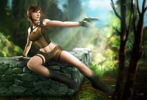 Lara Croft, Tomb Raider by EverHobbes