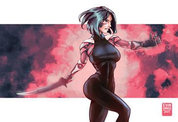 Alita: Battle Angel / Gunnm by EverHobbes