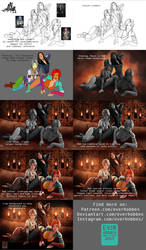 Witcher Girls: Process Step by Step by EverHobbes