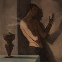 light and shadow study (Altair) by threeluggage
