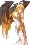 [OC] Angel by Sachrawrrr