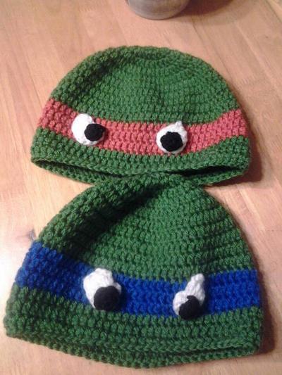 TMNT Hats by Kathskrafts