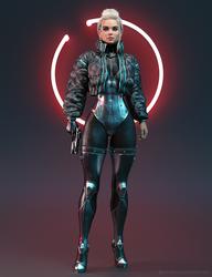 Cyberpunk Hypetrain by Freyr3dx