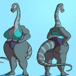 Molly Mokele by Giganticluv