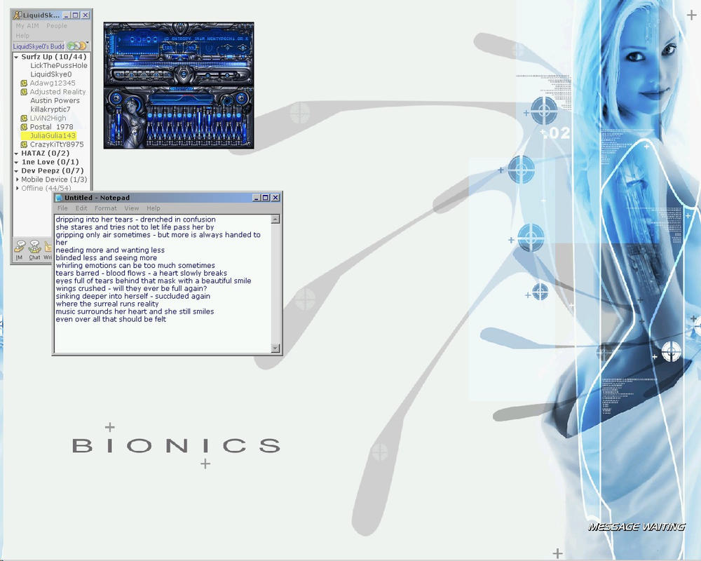 ScreenShot-Bionic by fallingskies