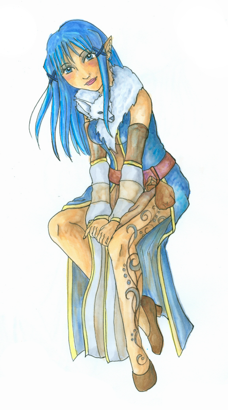 Lachandra Coloured by LadyDazz