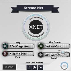 Xtreme-Net flyler by xraidsempai