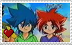 Kane x Salima stamp by ShincciStamps