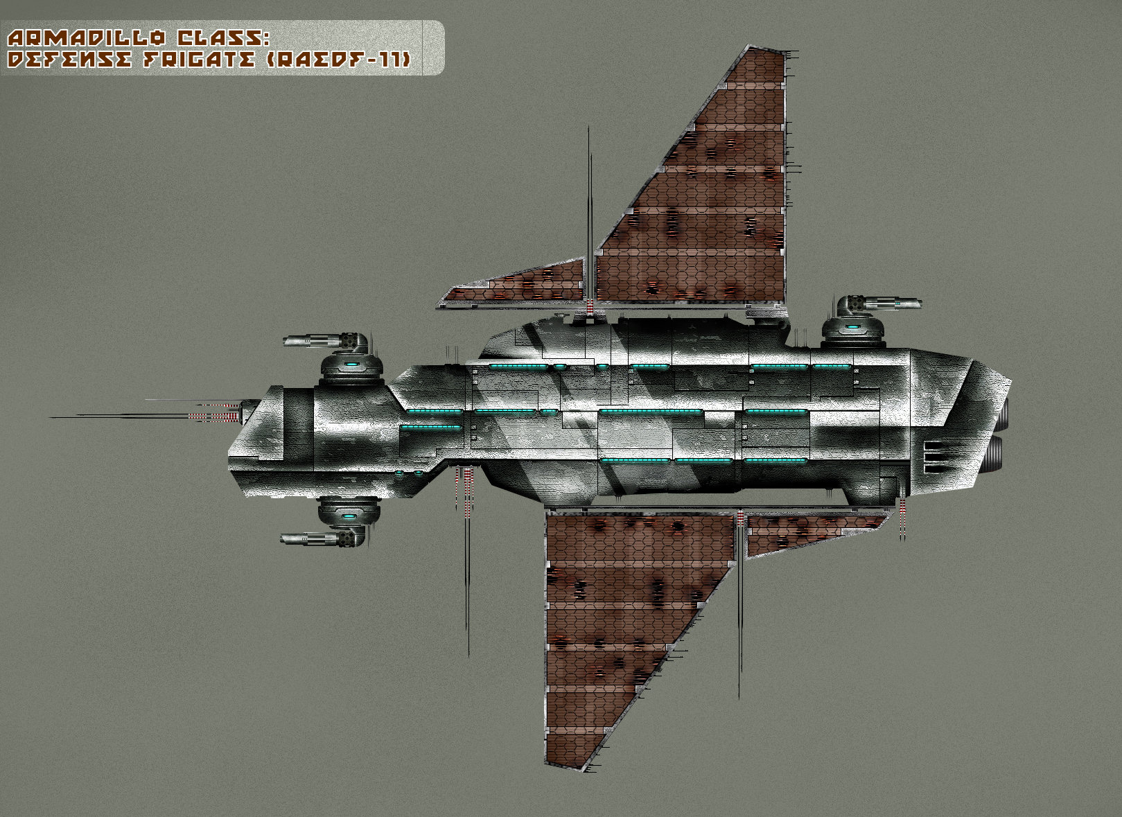 Armadillo class: Defense Frig by RadASS
