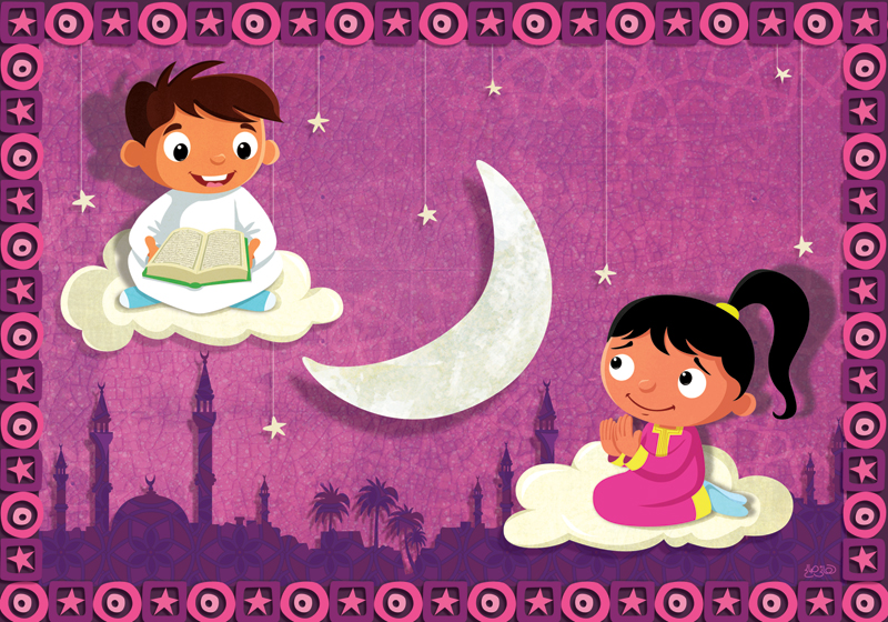 Ramadan Greeting Card2 by hanno