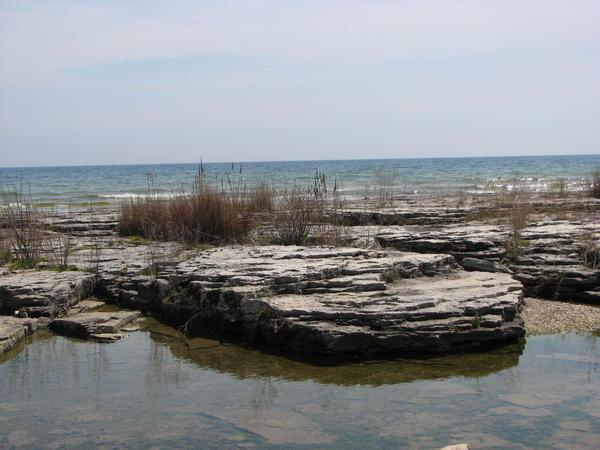 Lake Rocks-Stock by SingularStock
