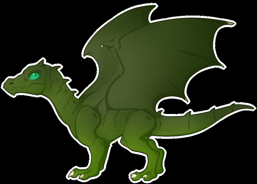 Green dragon wyrmling by Spark-Imagination on DeviantArt