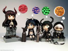 The BRS Girls Favorite Sweets by Kuro-Kinny