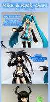 Miku and Rock-chan! by Kuro-Kinny