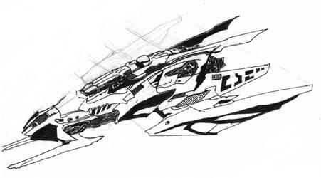 Spaceship by TheJack-jack