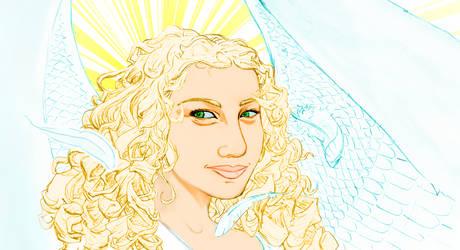 Blonde Angel by TheJack-jack