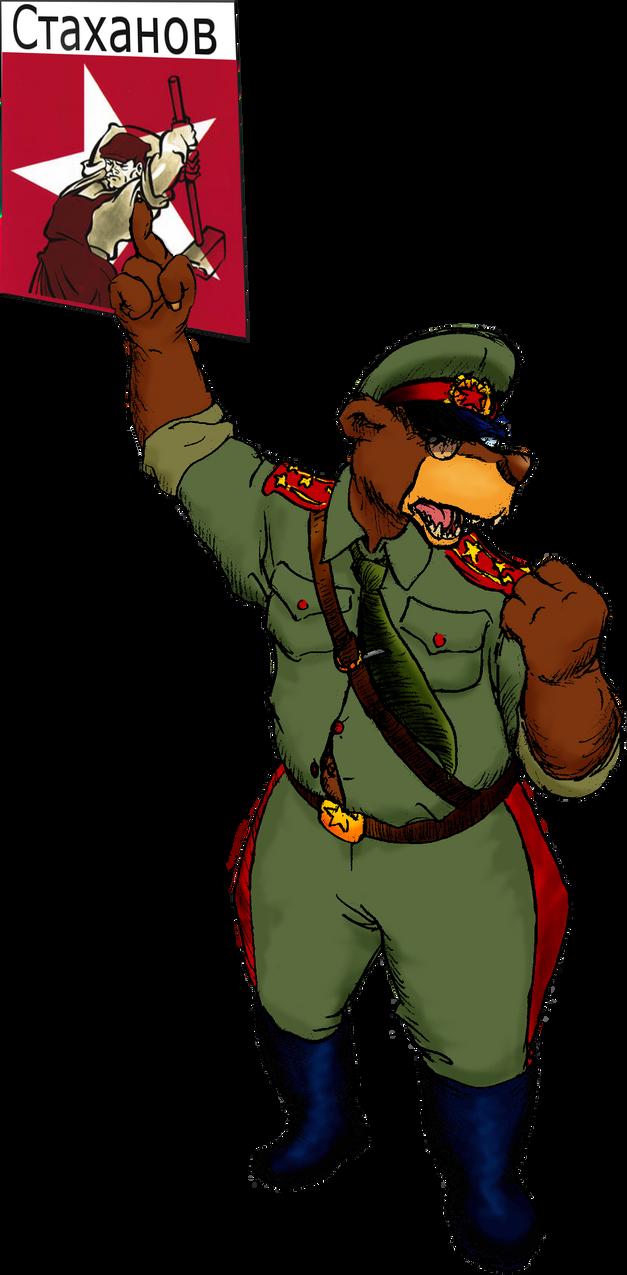 Riri le gentil ourson commissaire politique