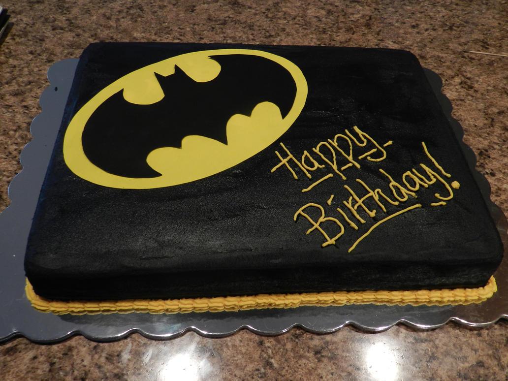 Batman Chocolate Cake
