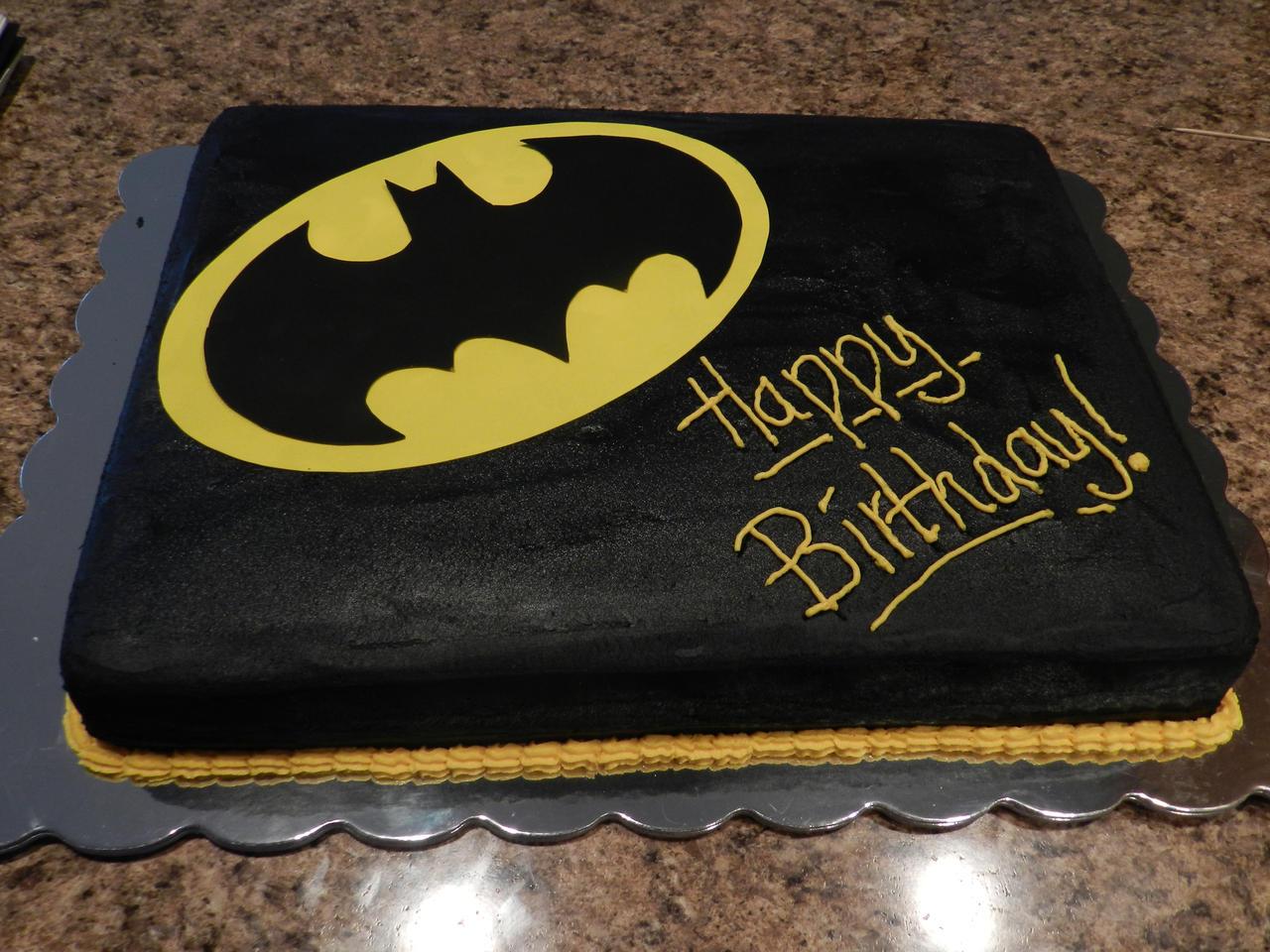Where Can I Buy A Batman Cake