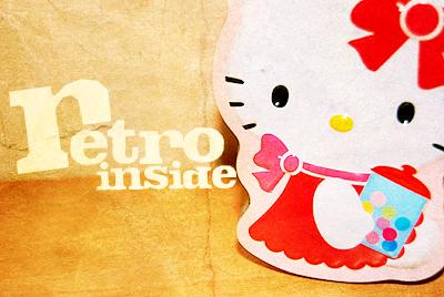 retro kitty by xNovemberdayx