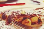 Pancake banana caramel 2