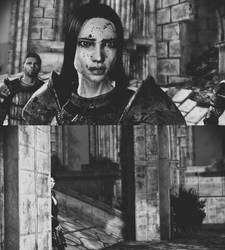Dragon Age Origins: Meeting Morrigan by xNovemberdayx