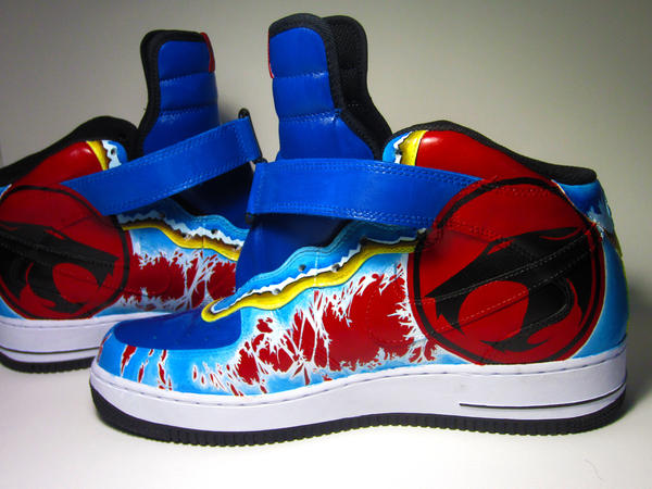 Air Force 1's Sneaker Art Thunder Cats by Himoru