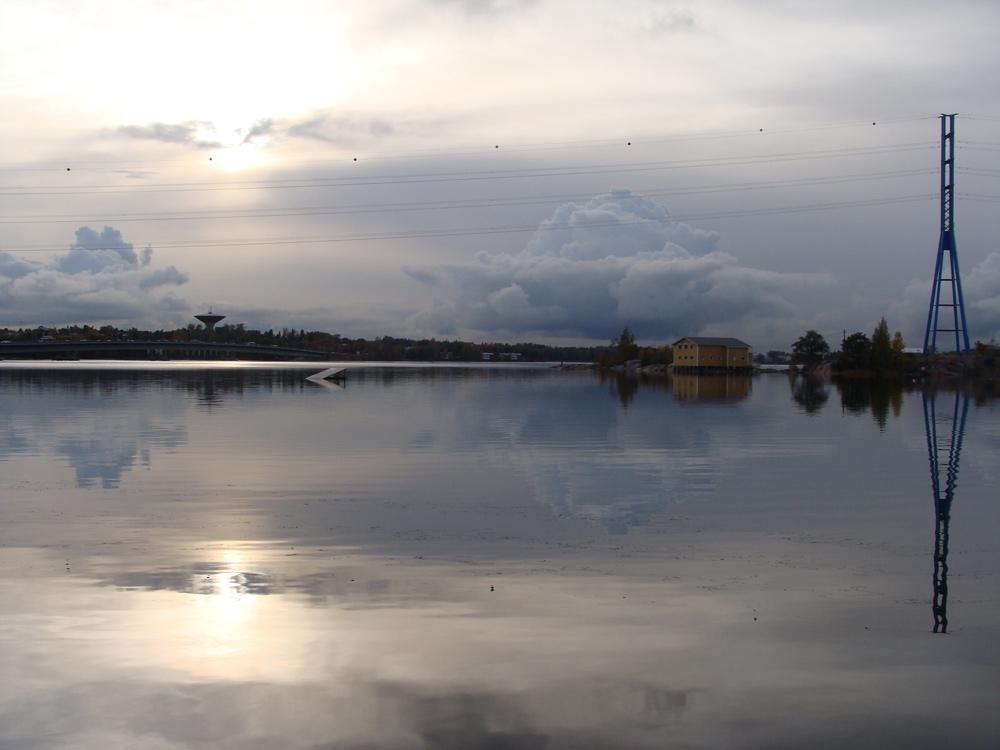Helsinki Sunset by Fischstaebchen