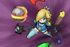 2019JUN02C Super Charged Rosalina by mythkaz