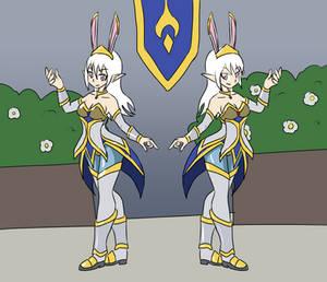 2021SEP06B Twin Priestess of the Bunny Church