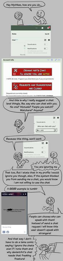 Rant: Chat levels